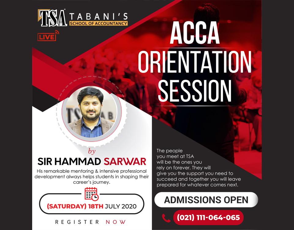 ACCA orientation